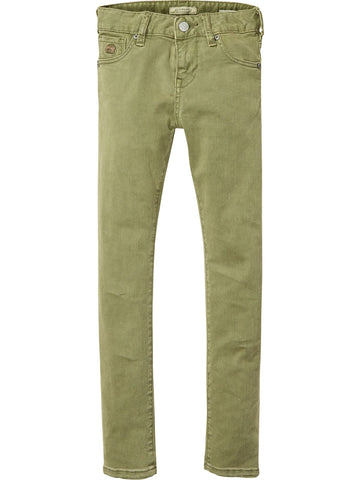 SCOTCH SHRUNK - Military Green Strummer Pant 134532