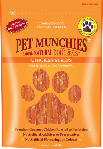 Pet Munchies Chicken Strips (90g)