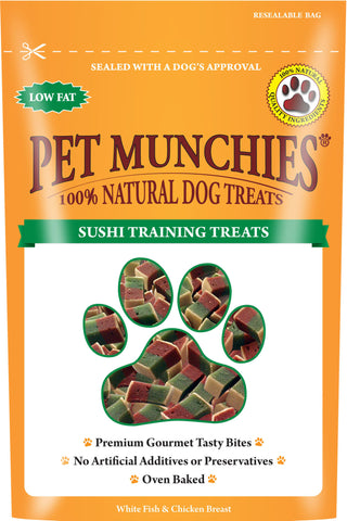 Pet Munchies Sushi Training Treats (50g)