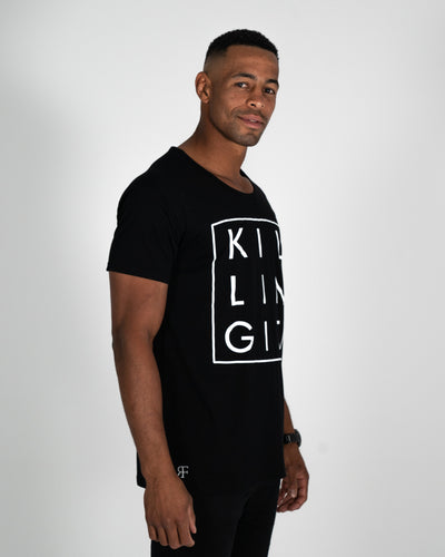 Black Killing It Tee