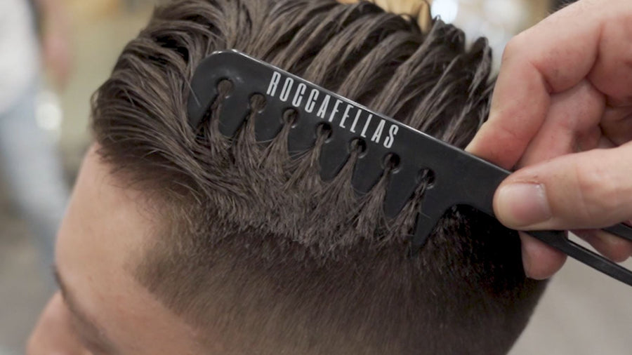 WIDE TOOTH STYLING COMB