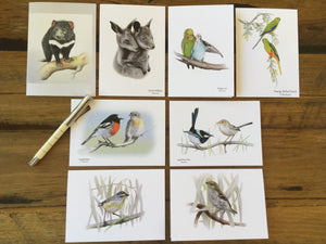 Greeting Cards by Spotted Robin