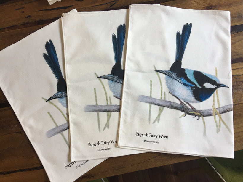 Tea Towels by Spotted Robin