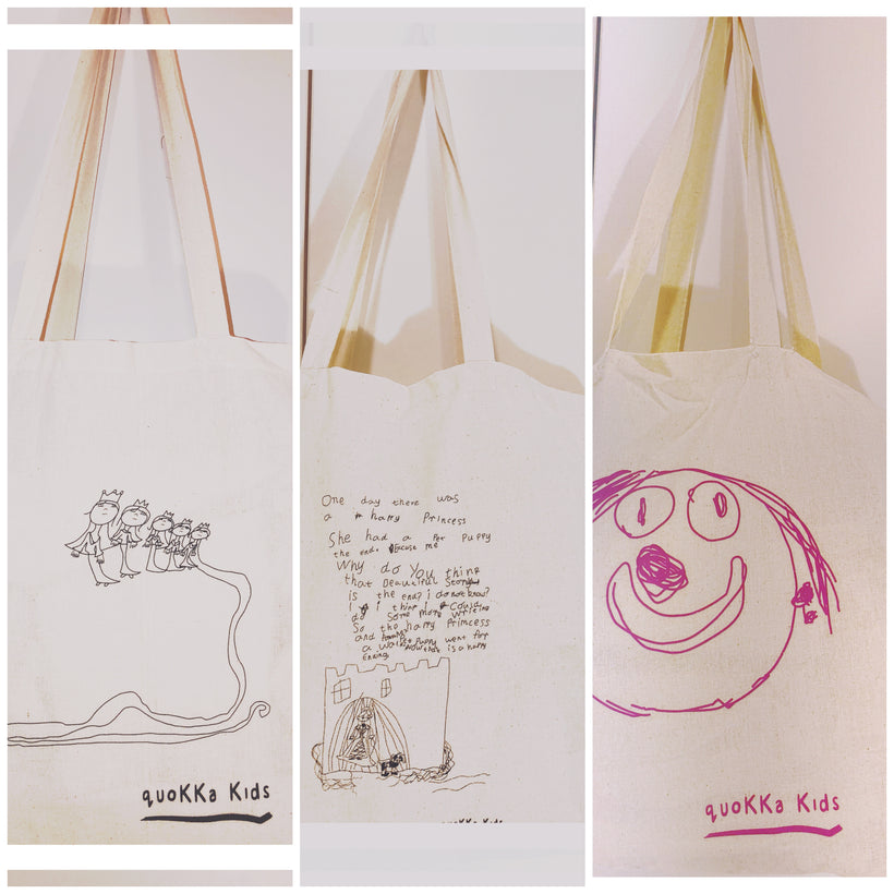 Unique and Quirky Calico Bags - Inspired by our Kids