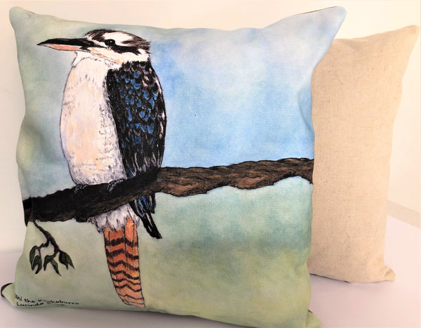 Cushion Cover - Birrani the Kookaburra