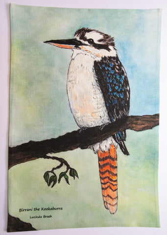 Tea Towel - Birrani the Kookaburra