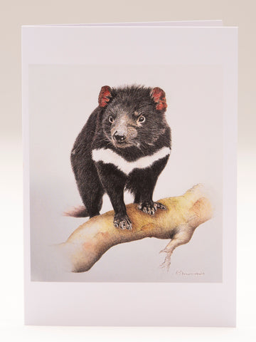 Greeting Card - Tasmanian Devil