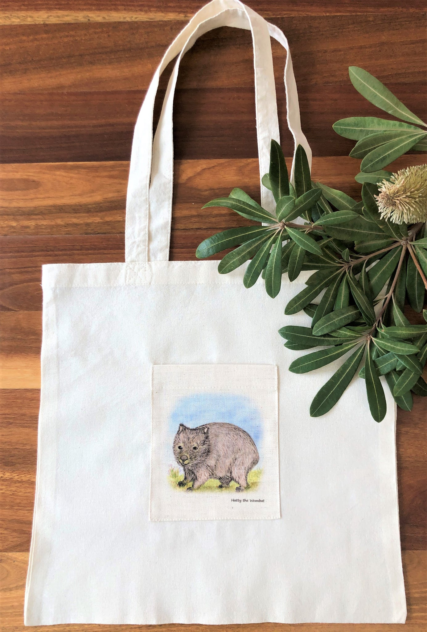 Tote Bag - Hatty the Wombat
