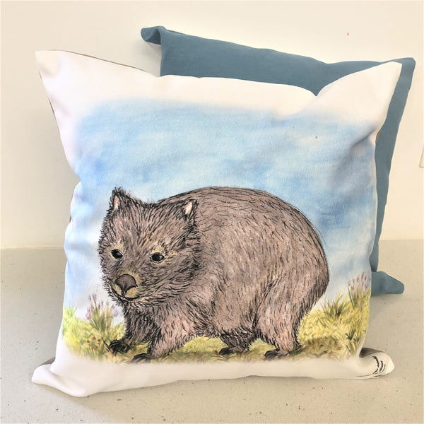 Cushion Cover - Hatty the Wombat