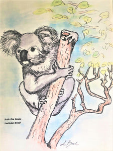 Tea Towel - Kala the Koala