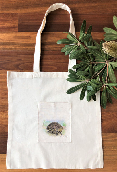 Tote Bag - Kirra the Echidna