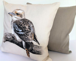 Cushion Cover - Laughing Kookaburra