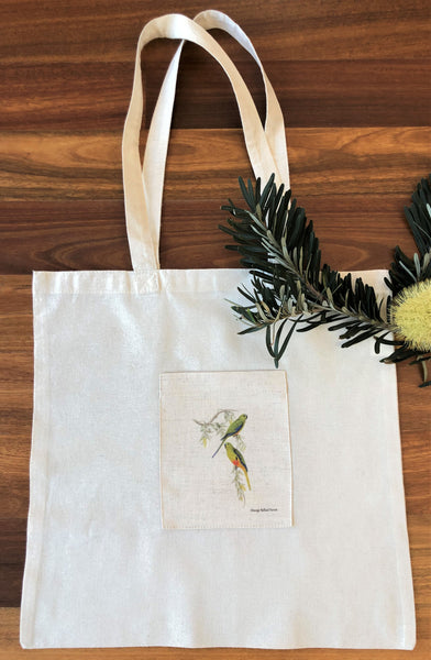 Tote Bag - Orange Bellied Parrot