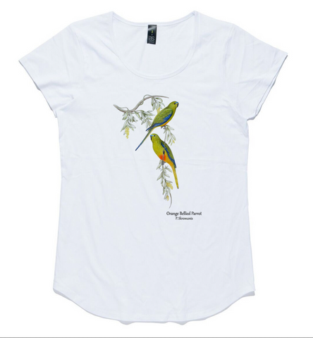 T-shirt - Orange Bellied Parrot