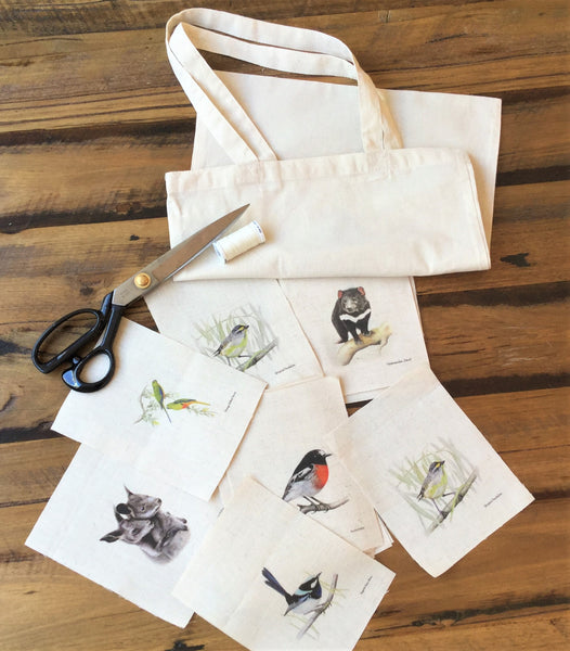 Tote Bag - Budgie Love