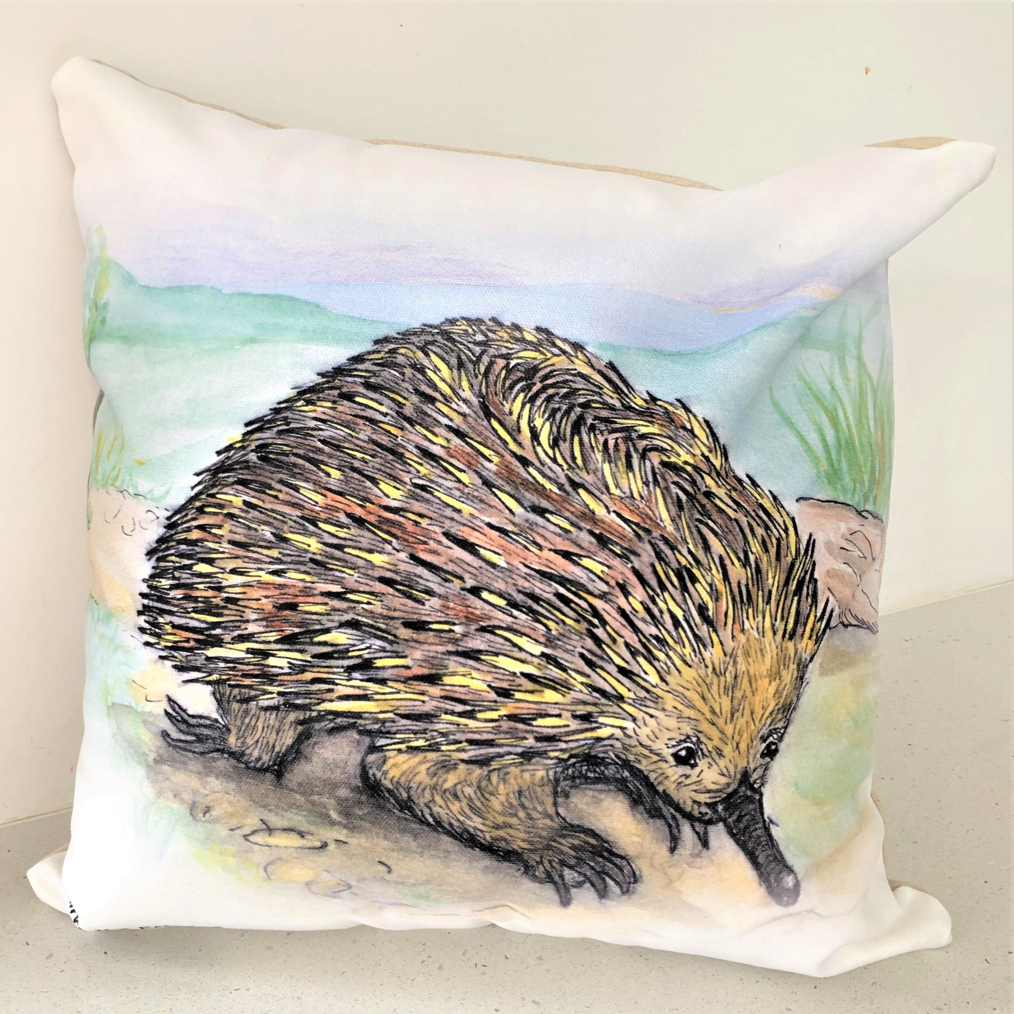Cushion Cover - Kirra the Echidna