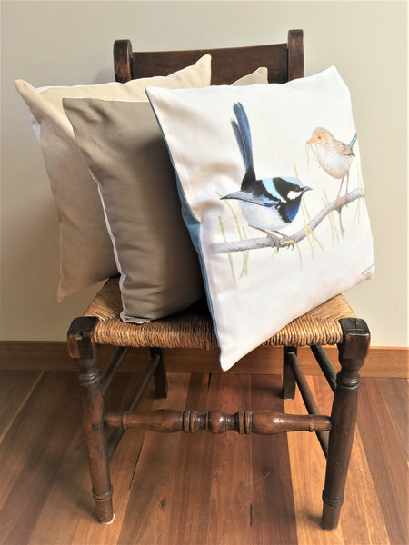 Cushion Covers - Superb Fairy Wren