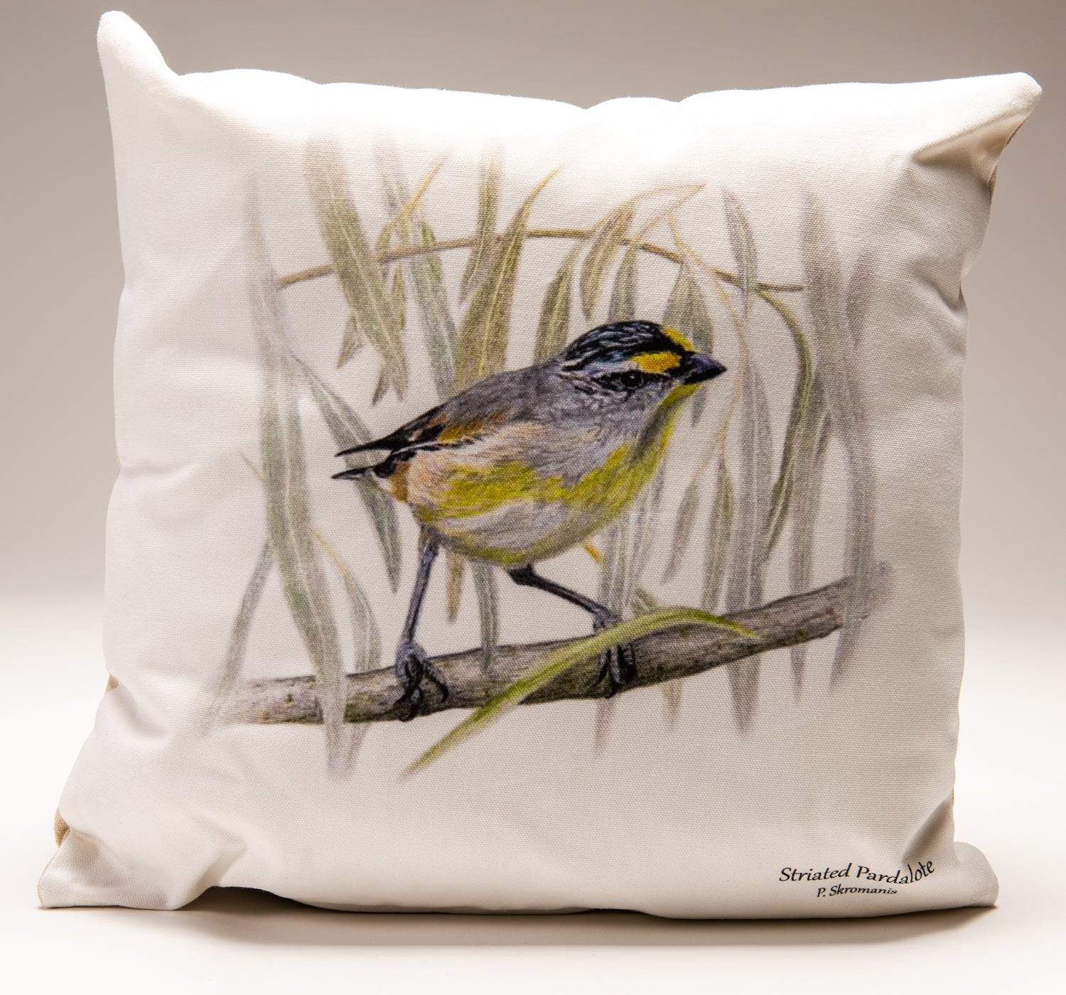 Cushion Covers - Striated Pardalote