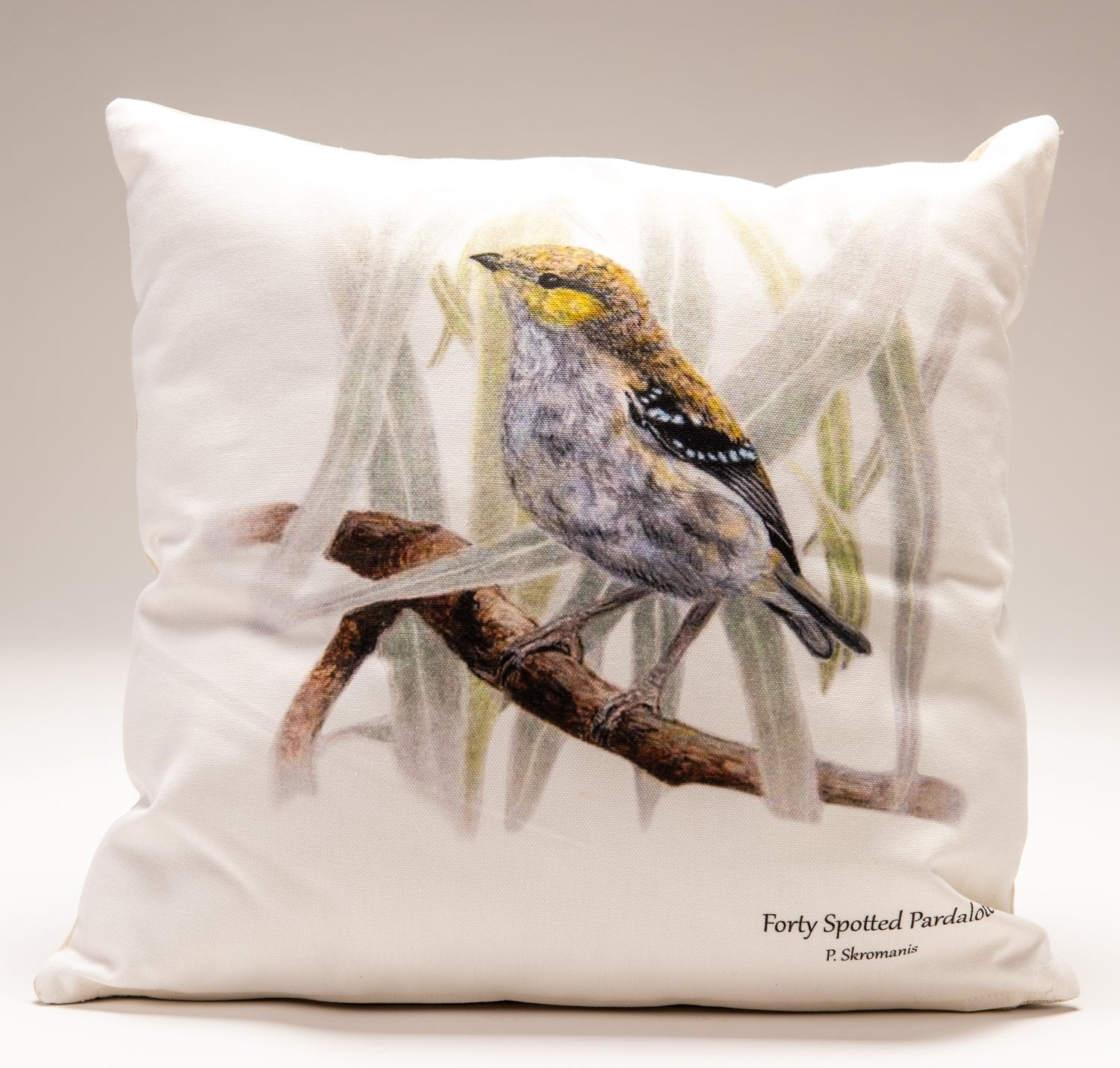 Cushion Covers - Forty-Spotted Pardalote