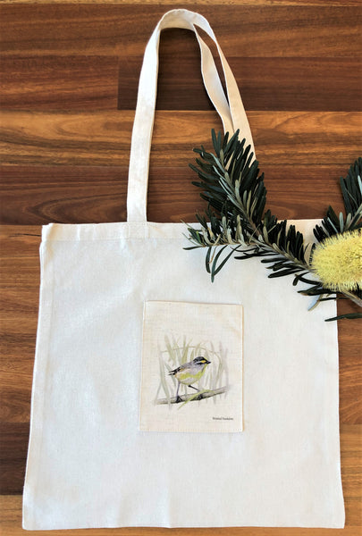 Tote Bag - Striated Pardalote