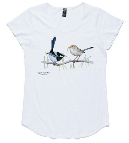 T-shirt - Superb Fairy Wren Pair
