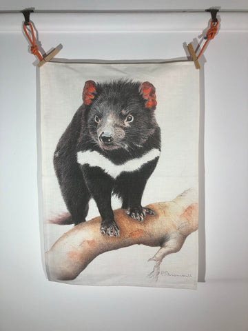 Tea Towel - Tasmanian Devil
