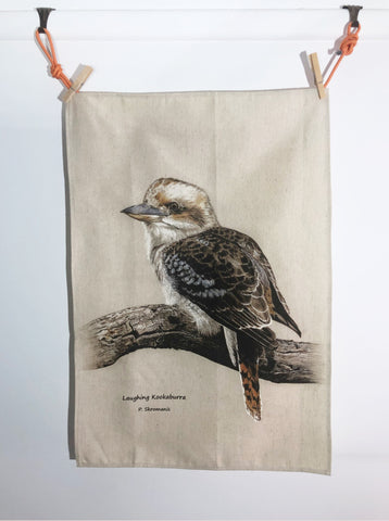 Tea Towel - Laughing Kookaburra