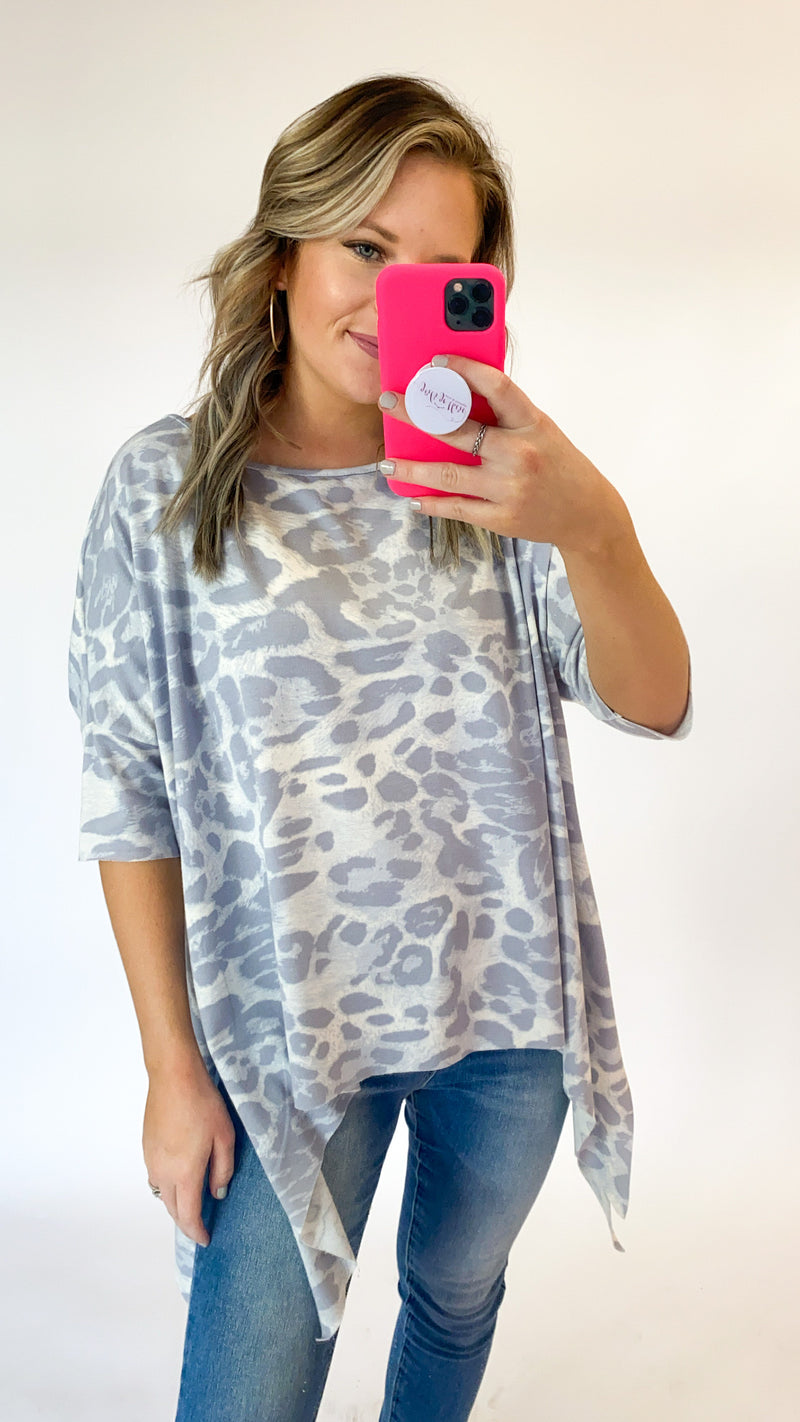 In My Way Tunic : Lilac