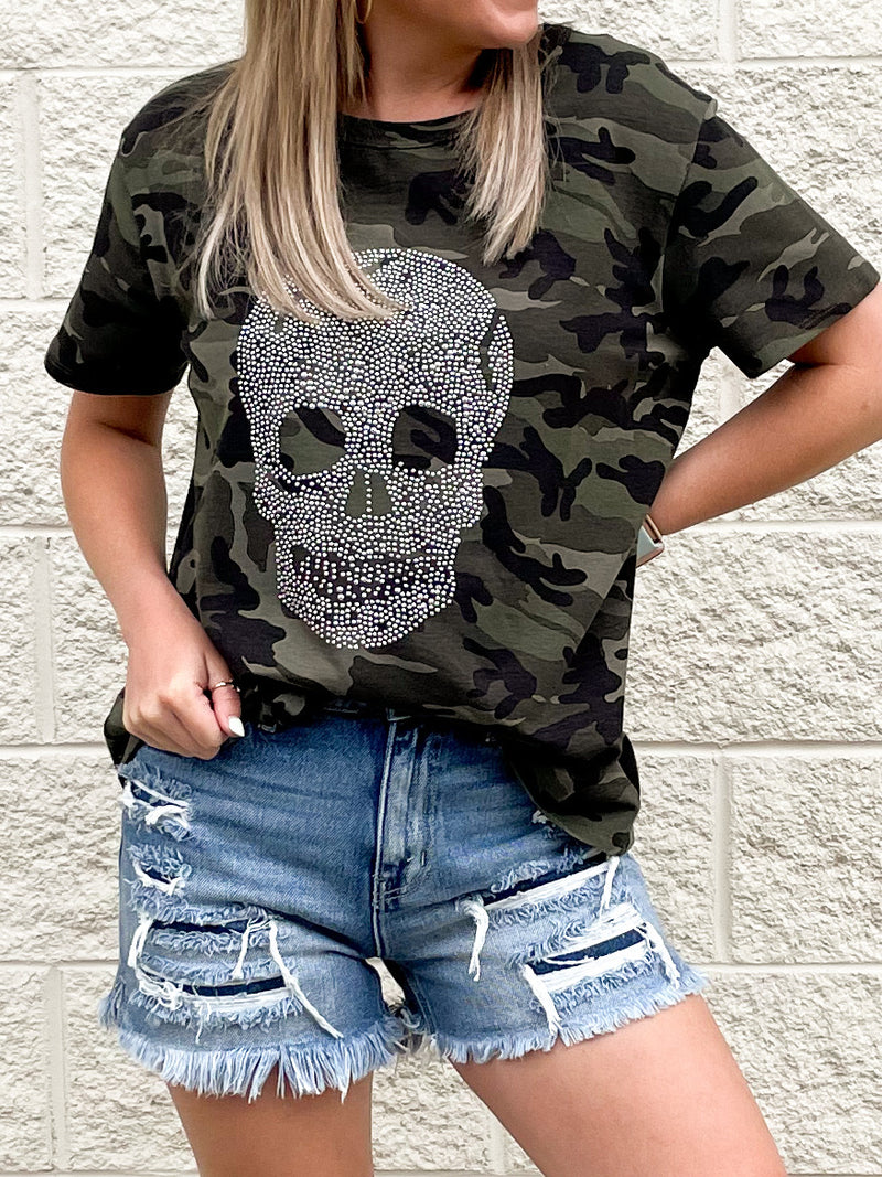 With Me Top : Camo