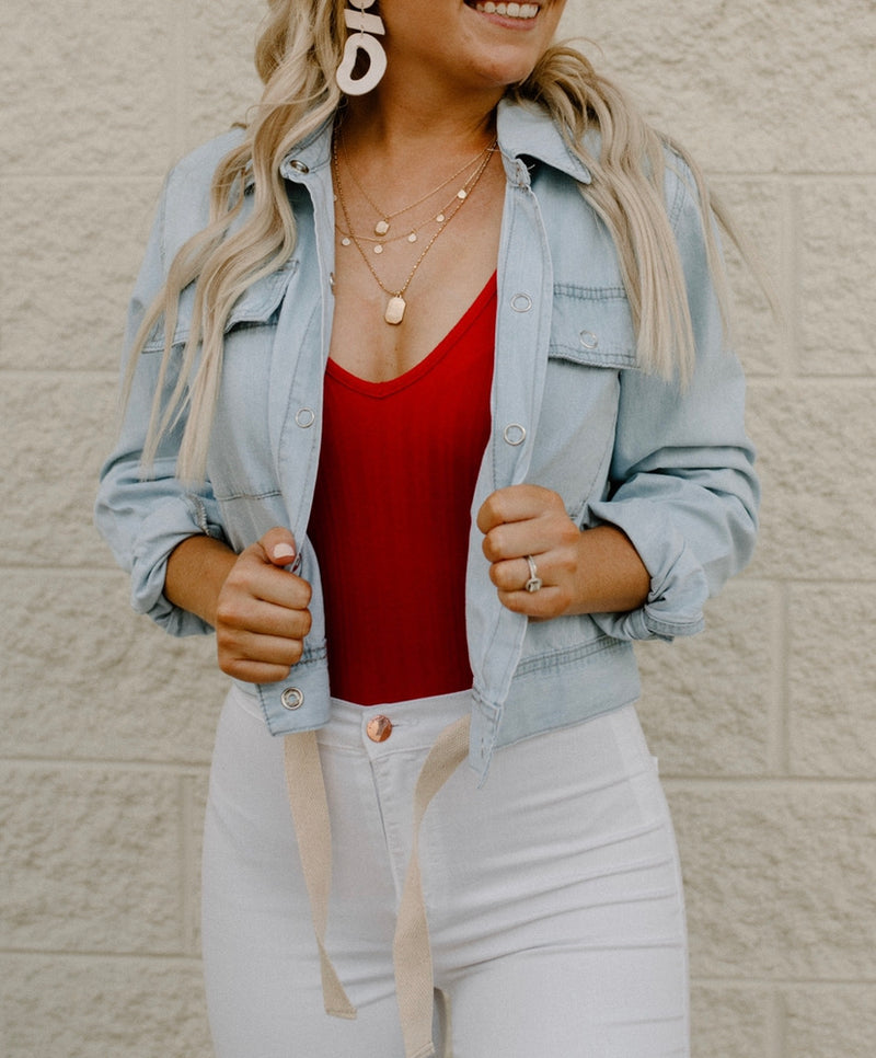 Feel It Denim Jacket