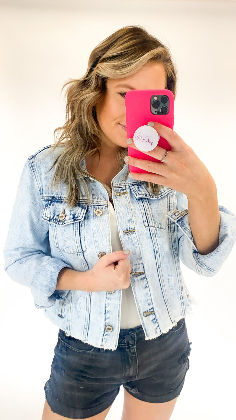 My Darling Denim Jacket : Light