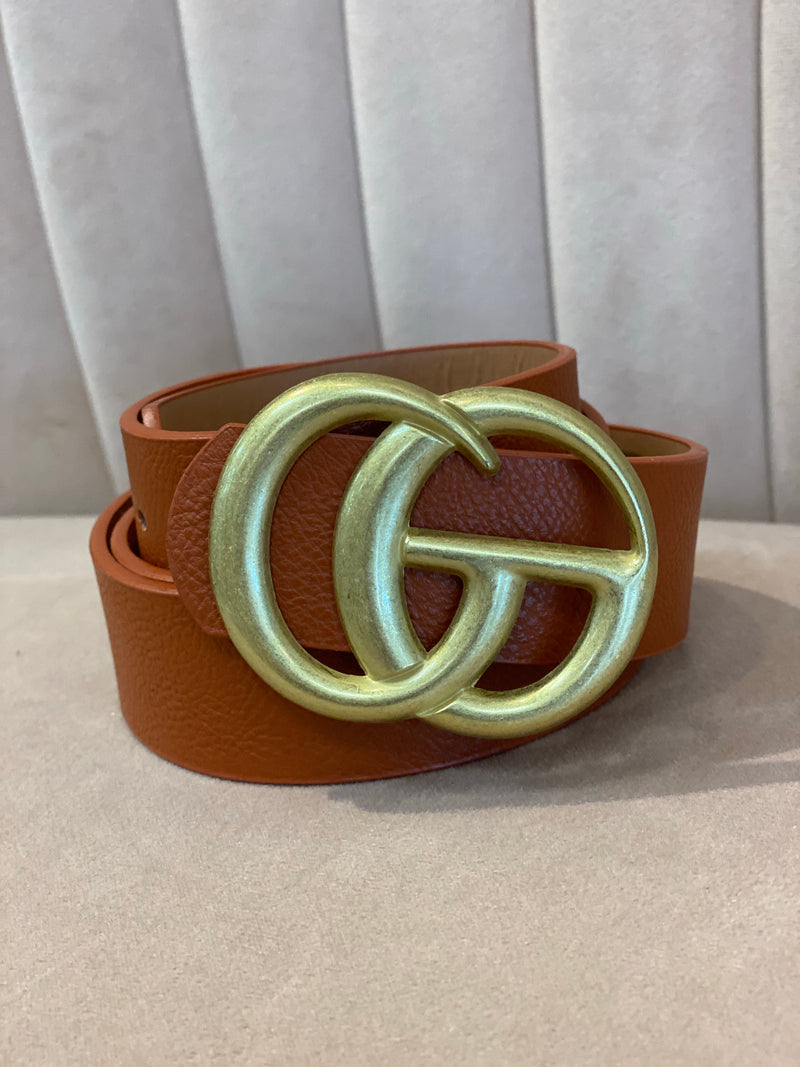 GG Belt : Brown