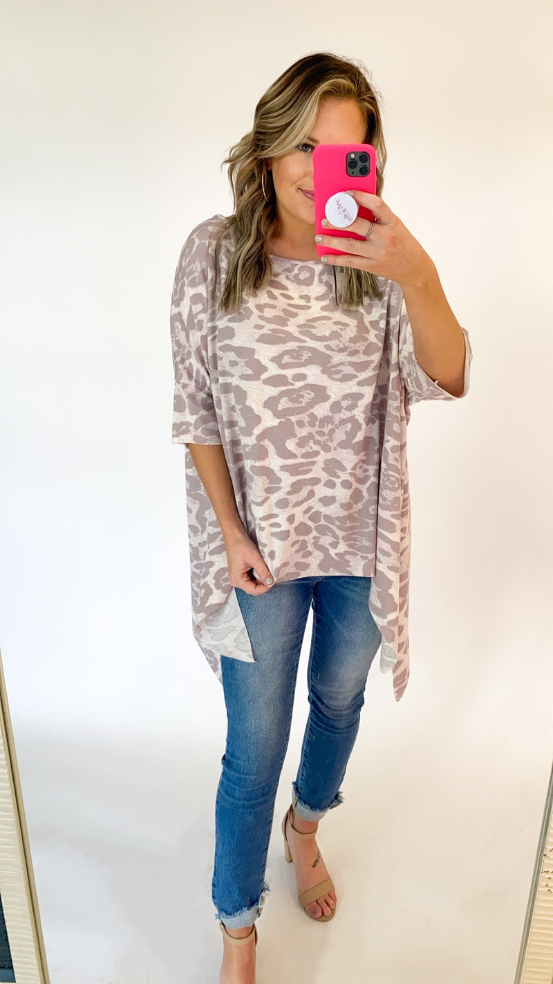 In My Way Tunic : Rose