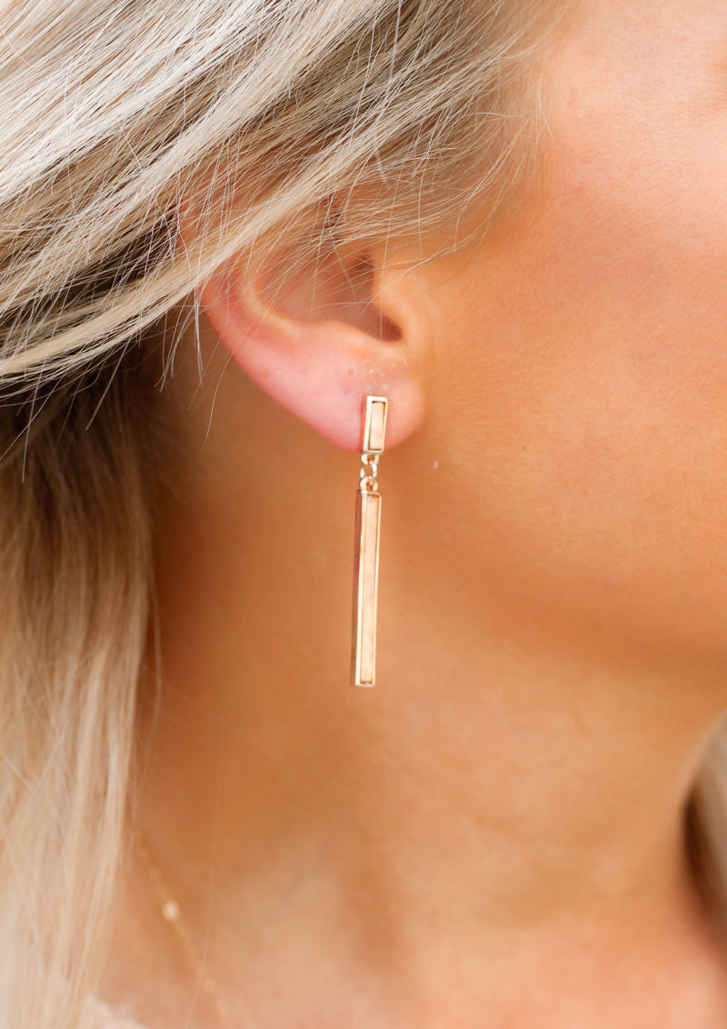Forget You Earrings : Rose