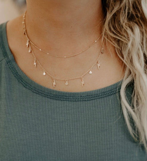 Lightning Layer Necklace