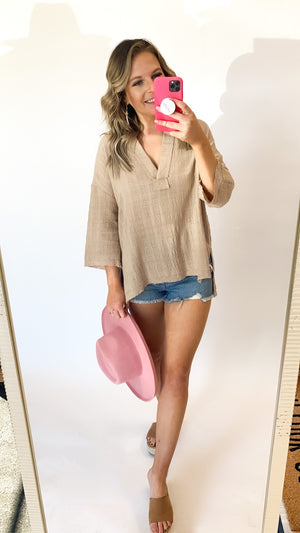 The One Top : Taupe