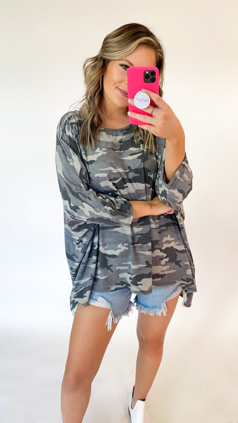 What It Looks Like Tunic : Camo