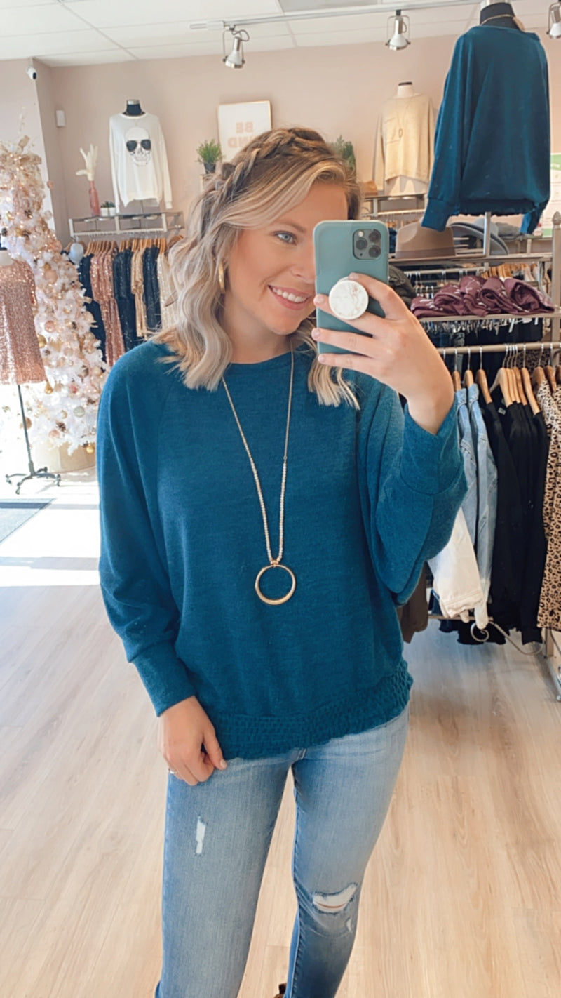 Give Everything Top : Teal