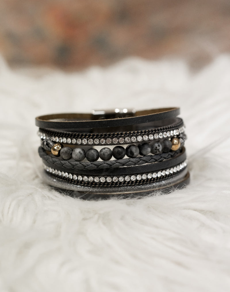 Think Again Bracelet : Black