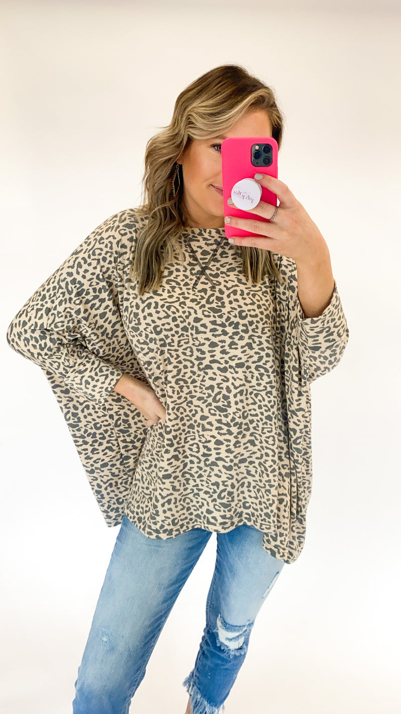How It Goes Tunic : Leopard