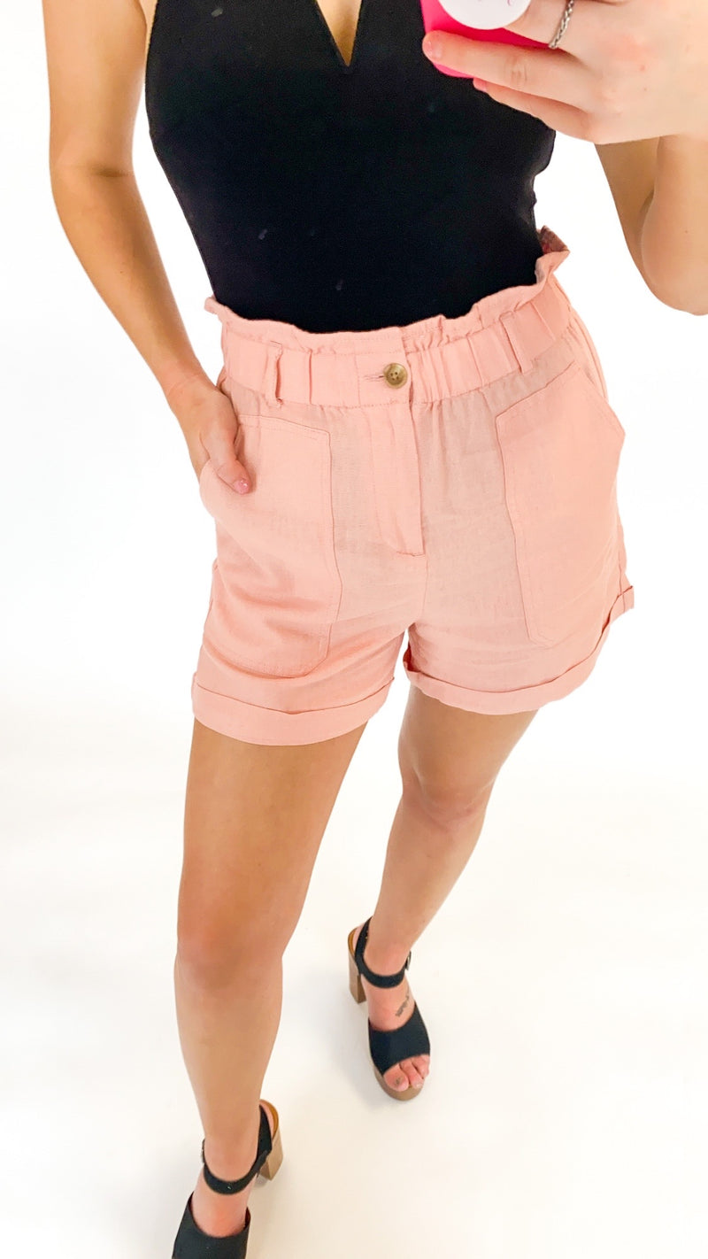 New Approach Shorts : Blush