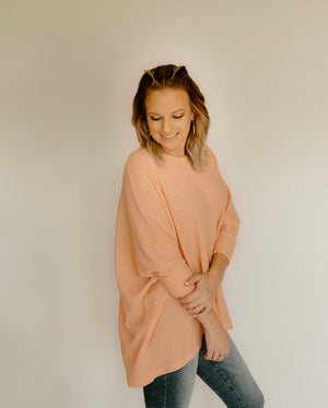 Take It Back Tunic : Coral