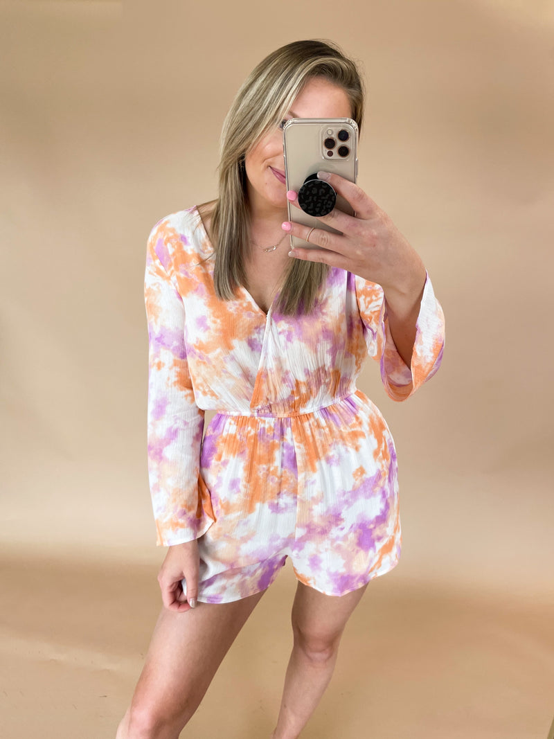 Better Than Romper : Orange/Purple