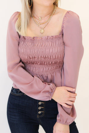 Someone Special Top : Mauve