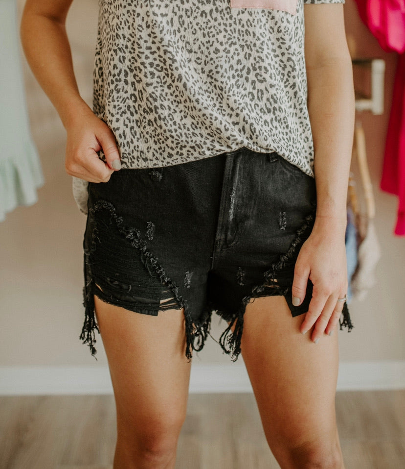 Your Turn Shorts : Black