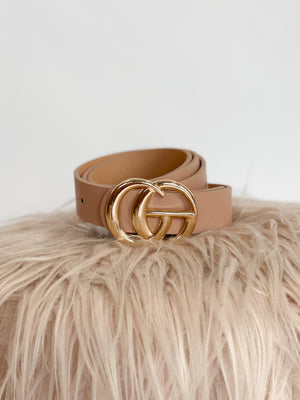 One Love Belt : Blush