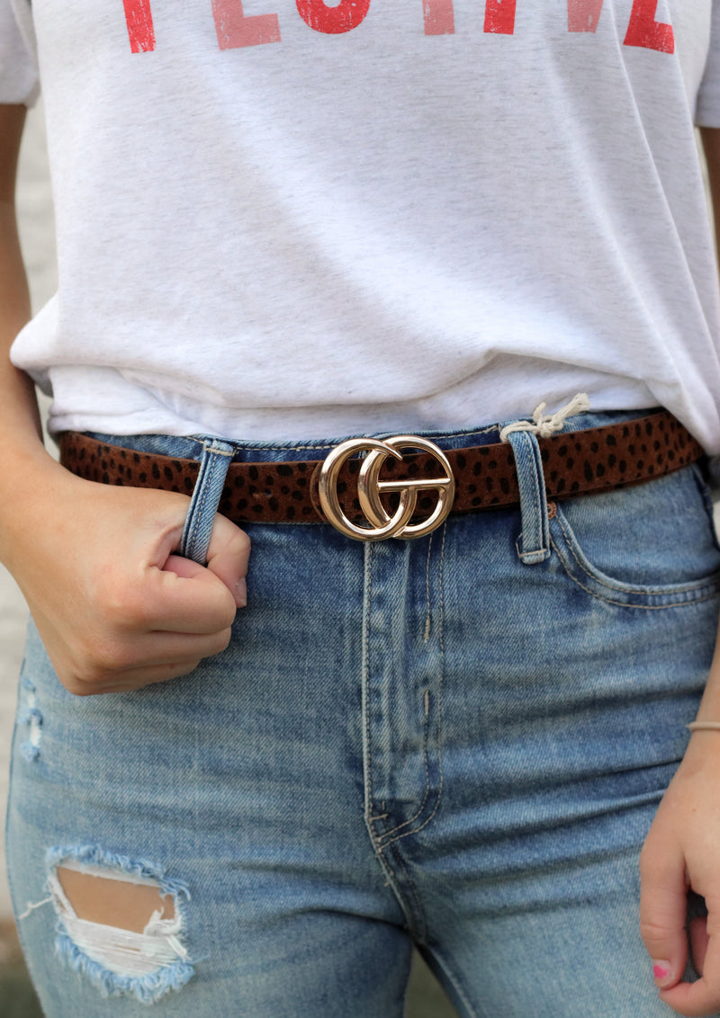 Better Off Belt : Cognac