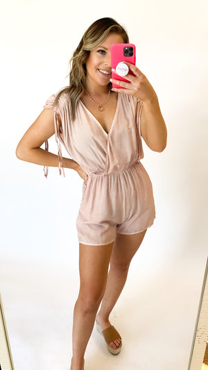 My Way Romper : Mauve