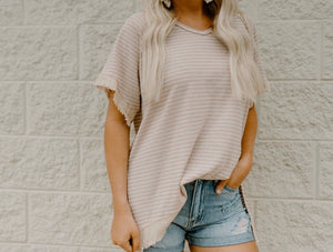 Join Me Top : Taupe