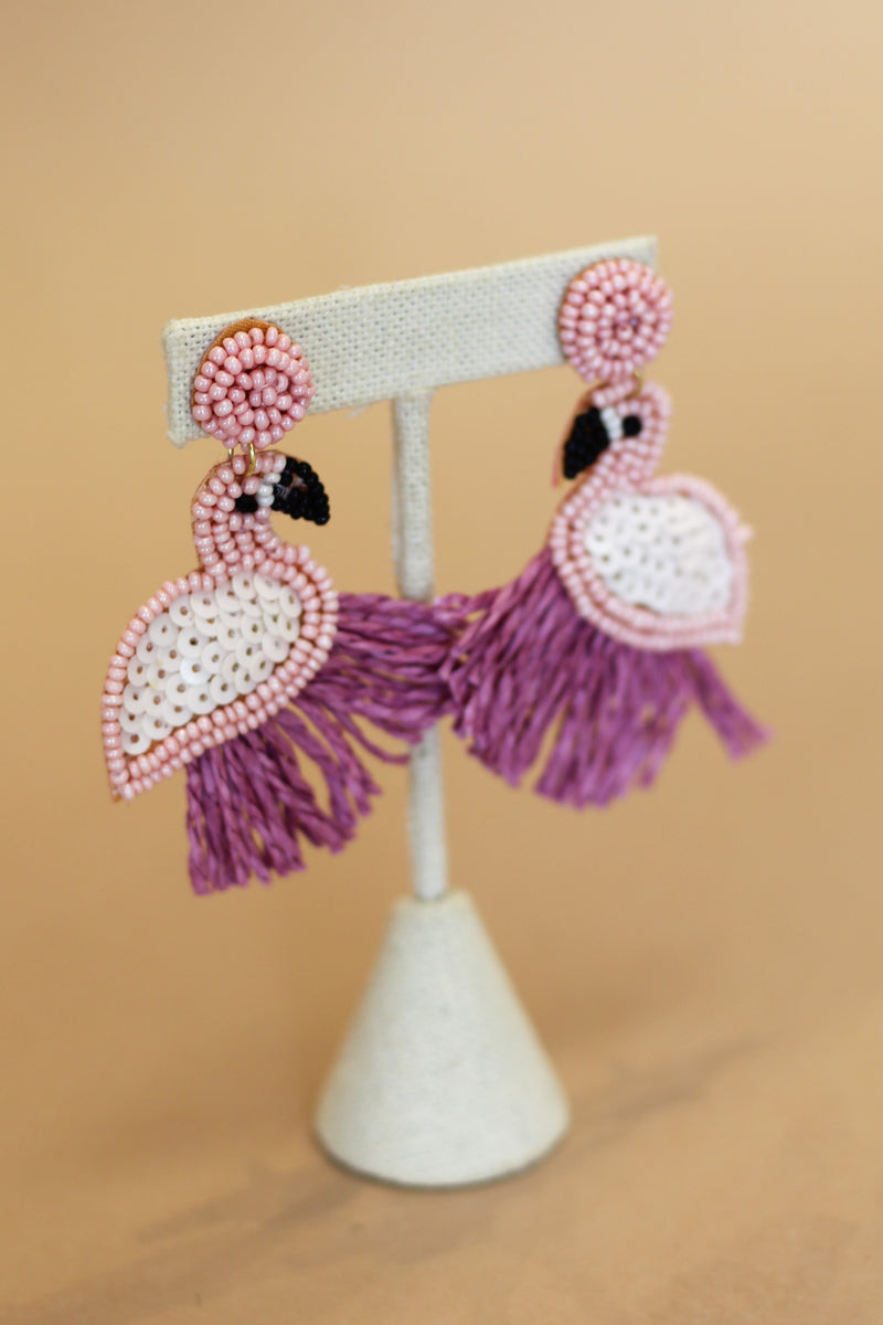 Flamingle Earrings